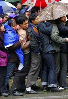 crowded train stations in china 15 Inilah Antrian Terpanjang di Dunia !