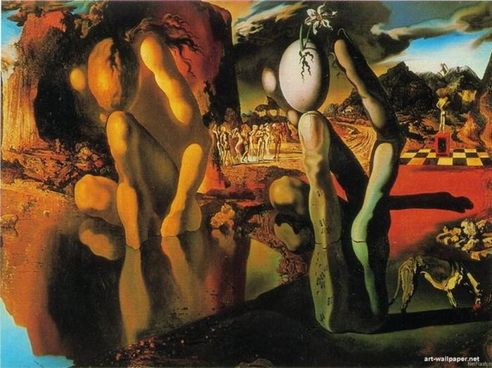 why is salvador dali s painting the persistence of memory so