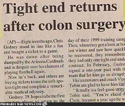 Hilarious News Headline Seen On www.coolpicturegallery.net