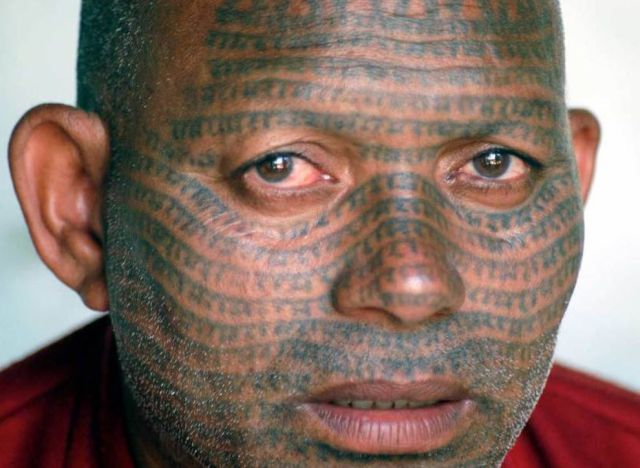 The game face tattoo for The game tattoos