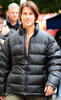 Tom Cruise Filming  Mission Impossible 4 in Prague Seen On www.coolpicturegallery.us