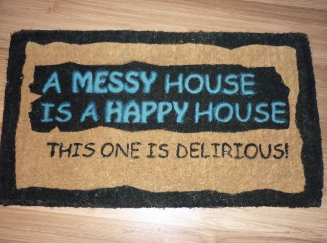 Funny doormats damn cool pictures - Novelty welcome mats ...
