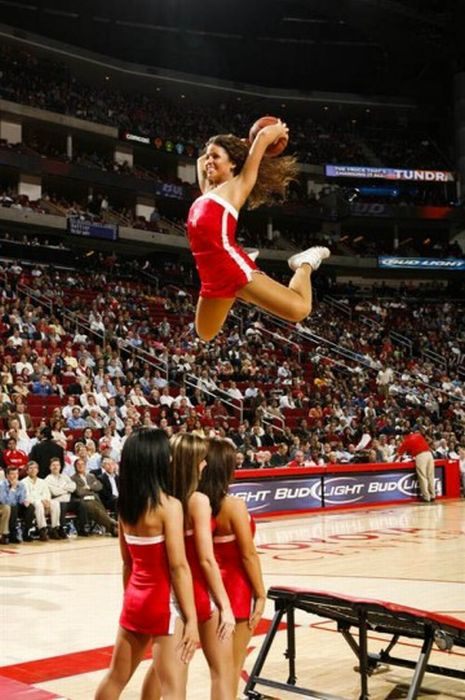 Slam Dunking Nba Girls Damn Cool Pictures