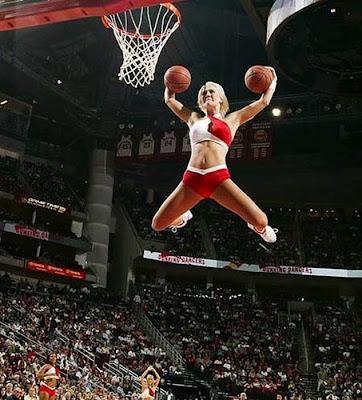 funny NBA girls pics