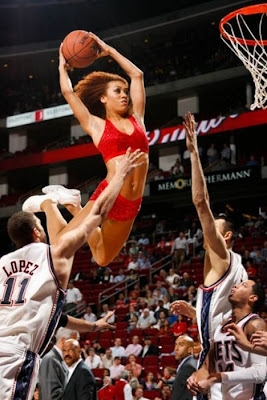 fun pics of NBA girls