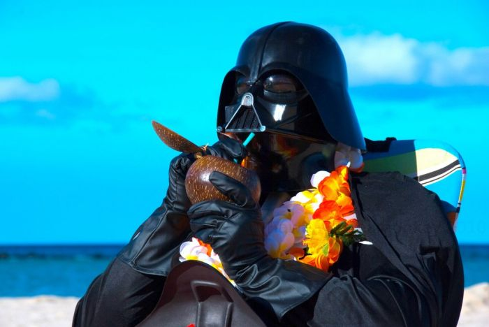 Brighton Beach: Darth Vaderu2019s Hawaiian Vacation