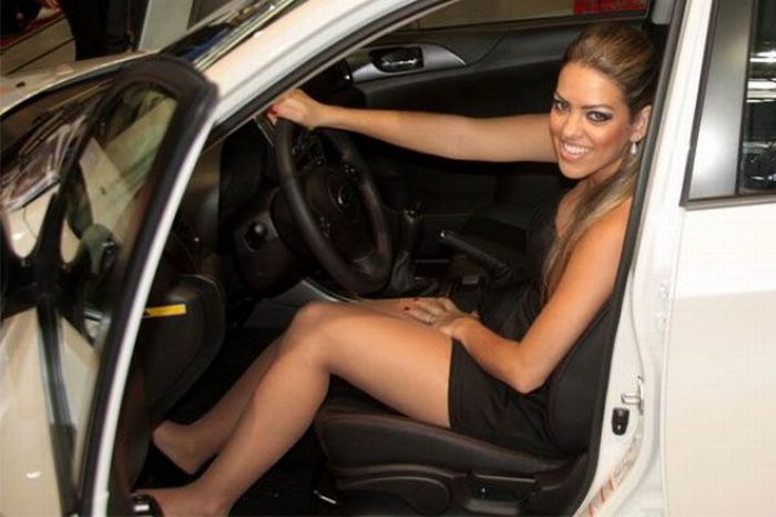 Brazilian Car Show Models sexy stills