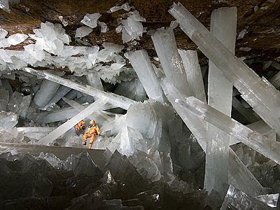 Cave of Giant Crystals (Mexico) 2
