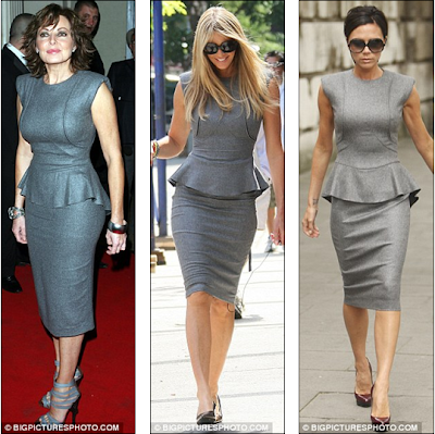 Victoria Beckham Dresses 2009. dress in October 2009,