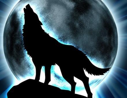 ...EQUILIBRIO... Lobo+en+la+luna+llena