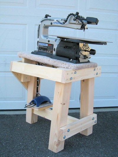 Scrollsaw workshop free scroll saw stand plans from for Table saw table plans