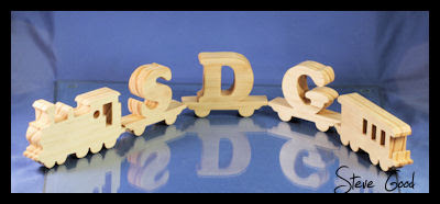 scroll saw letter patterns
