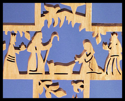 Scroll Saw Patterns Cross Diy Woodworking Projects border=