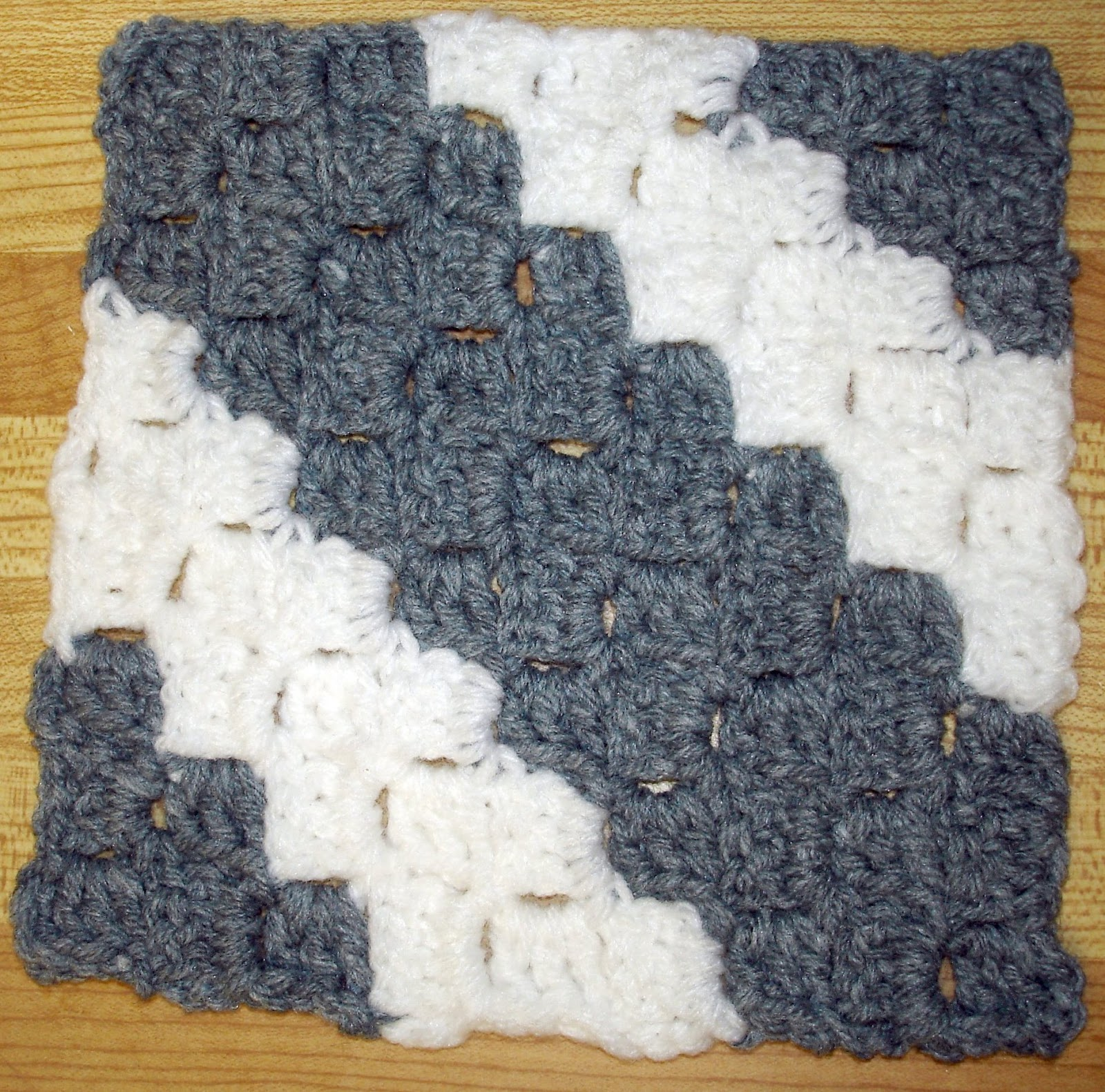 Diagonal Shell Stitch Picsbud