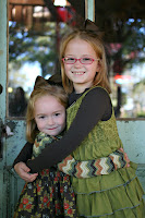 Macy and Lucy...October 2010