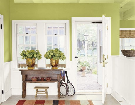 Take the Side Street: My Living Room Paint Dilemma: How Green is
