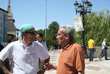 Charlando con Juan Carlos Aparicio, Alcalde de Burgos.
