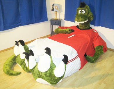 MOMMY BLOG EXPERT Ty The TRex Dinosaur Incredibed Product - T rex bed