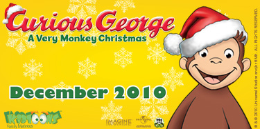 MOMMY BLOG EXPERT: Curious George: A Very Monkey Christmas in ...