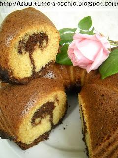torta marmorizzata della mamma