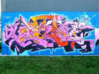 graffiti art, beatiful life