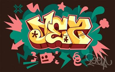 Modern graffiti letters13