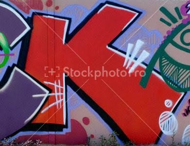 graffiti alphabet, K