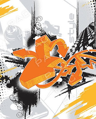 graffiti style, alphabet