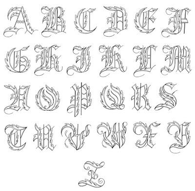 lettering alphabet. The alphabet from A - Z is so
