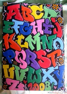 graffiti alphabets, graffiti art