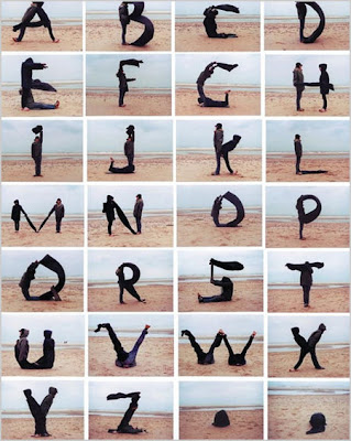 human, graffiti alphabets