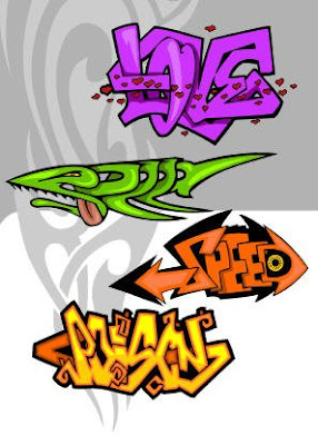 graffiti alphabet, , unique