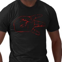 blood symbol on the t-shirt 1
