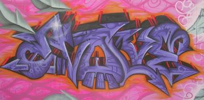 Cool 3D Wall Graffiti Alphabet Gallery