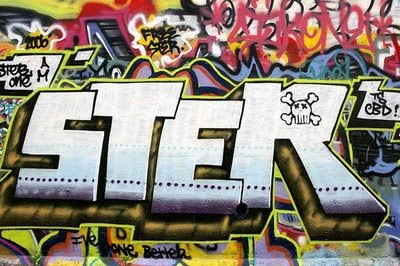 graffiti alphabet supercools