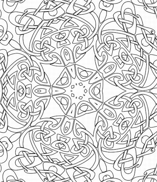Advanced Printable Coloring Pages for Adults