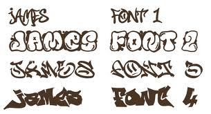 Graffiti Fonts Alphabet3