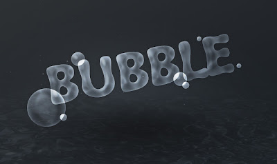 Bubble Letter Text 1