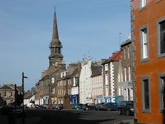 Haddington, Scotland where Robert is from...