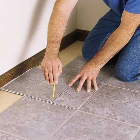 Laying Vinyl Tile Flooring : ... tiles in designing the bathroom and kitchen i advice the vinyl tiles
