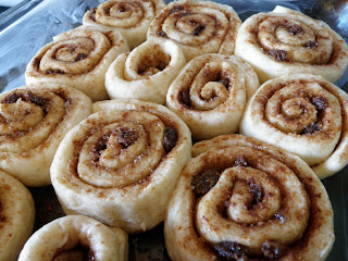 Cinnamon Bun Prebaking