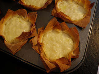Coconut Yogurt Tarts