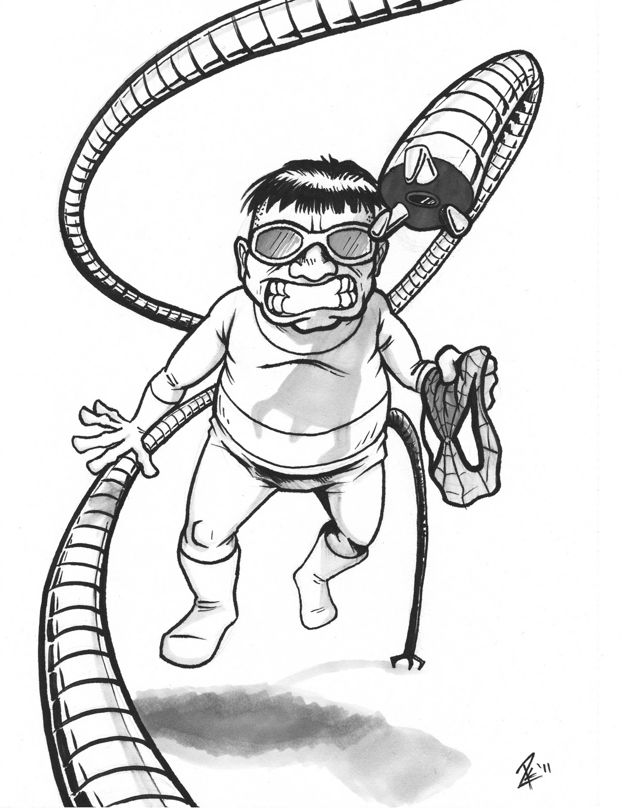 Coloring Pages Doctor Octopus Coloring Pages doctor octopus coloring pages eassume com printable