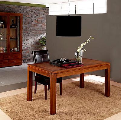 Mesas de comedor por la decoradora experta 3 mesas coloniales for Muebles coloniales malaga