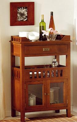 El mueble bar for Mueble bar madera