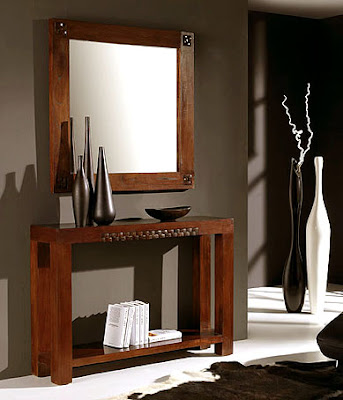 Muebles pr cticos por la decoradora experta los espejos y for Espejos estrechos y alargados