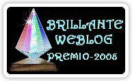 Brilliante Web Blog Award