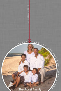 The Rossi Family Christmas Card~2010