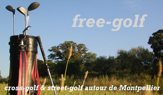 Free-golf, street-golf & cross-golf