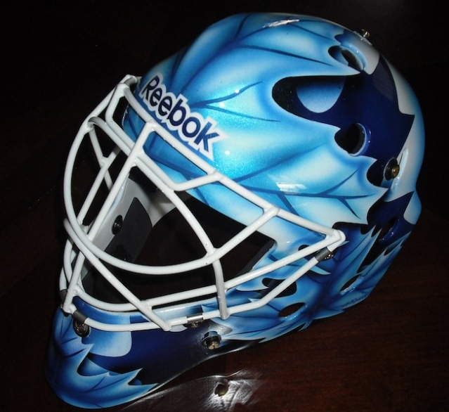 corey crawford mask. this is his home mask.